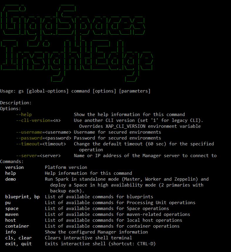 cli - interfejs tekstowy
